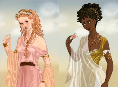 Ancient Rome Dress Up Game