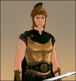 Male Warrior Dress up